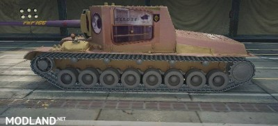 "SU-100Y Skin ""PKP ICC"" (Train) 1.0.2.4++ [1.0.2.4], 1 photo"